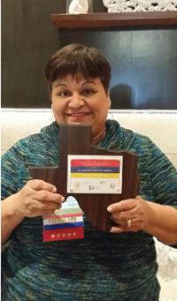 Elizabeth Garcia, birth registrar at Houston Methodist West Hospital.