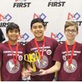 Cinco Ranch Junior High Robotics Team Earns Awards