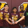 Cinco Ranch Junior High Robotics Teams Earn Awards