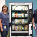 The First-Ever Book Vending Machine Arrives in Katy ISD