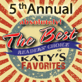 5th Annual absolutely! The Best Reader's Choice of Katy' Favorites